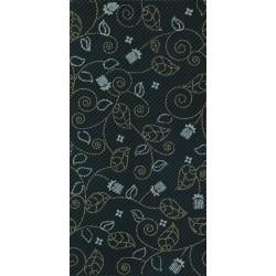 ZALA Macchiato zidna pločica Black dekor 25X50