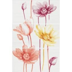 ZALA Happy Day zidna dekor pločica F-4021 20x40 magnolia